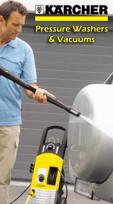 Karcher Pressure Washer and Vacuums
