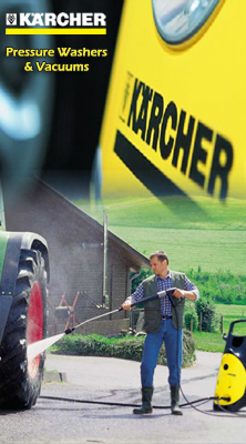 Karcher Pressure Washer_and_Vacuums
