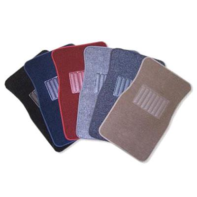 H&S Plush Carpet 4pc Mat Set