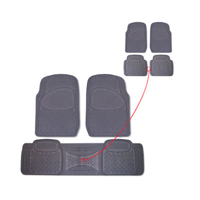 H&S Terrano 3pc Rubber Mat