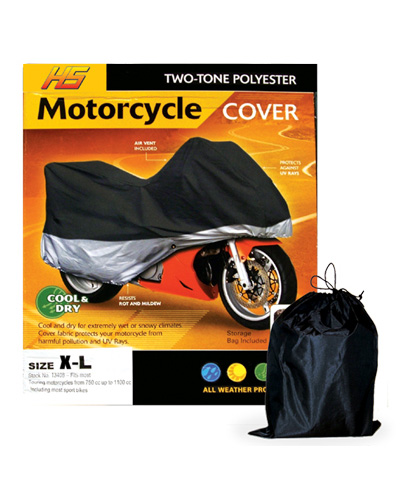 H&S Motorcycle Cover Large